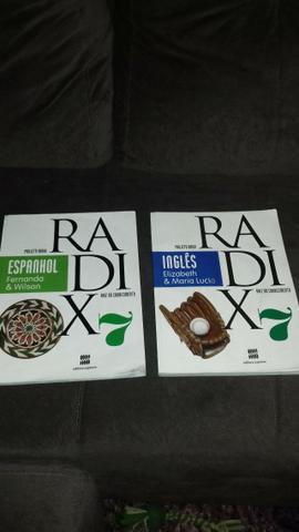 Livro didático projeto Radix 7° ano