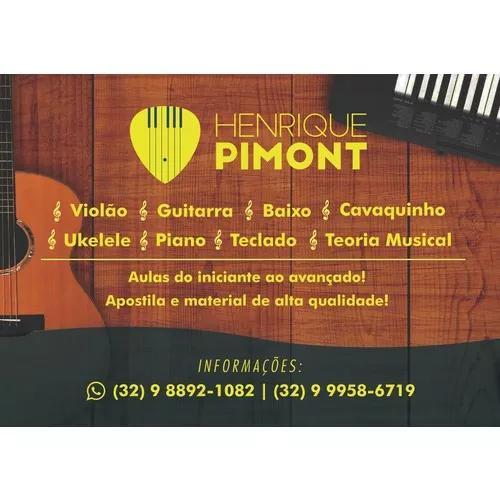 Aulas De Violao Guitarra Baixo Teclado Piano Cavaquinho Ukul