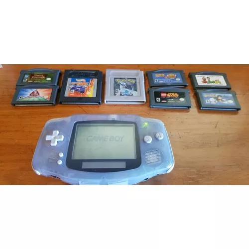 Game Boy Advance Original Agb-001 Made In Japan E 8 Jogos