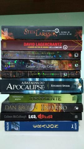 Livros diversos por $10 CADA