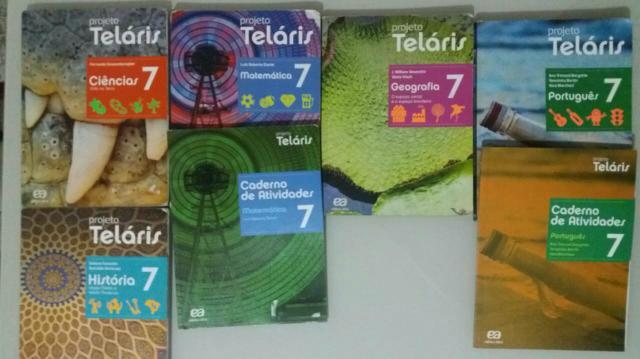 Livros projeto Telaris 7°, 8° e 9° anos