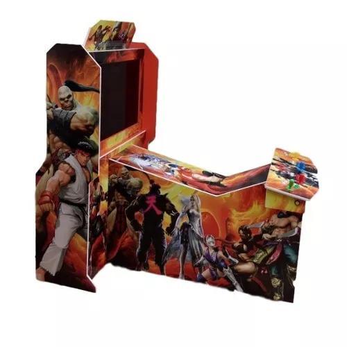 Maquina Arcade Street Fighter5, Tekken7, Super Heróis 8500