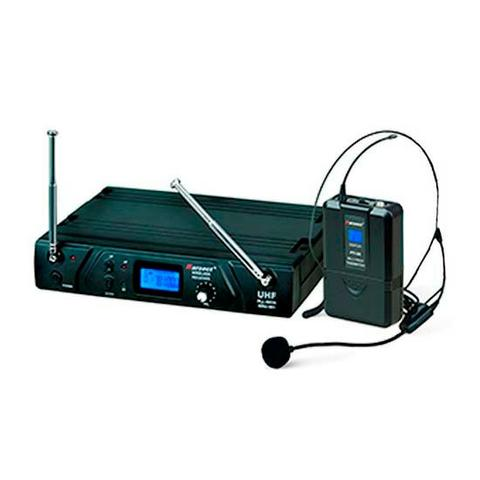 Microfone Sem Fio UHF Headset Karsect KRU 361