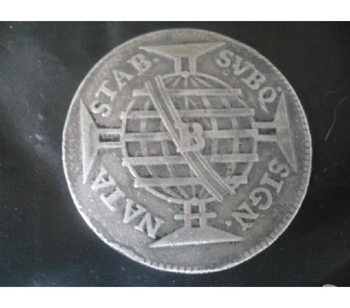 COMPRO MOEDAS D PRATA DE 1.600 ATÉ 1849 PAGO R$3.000 O