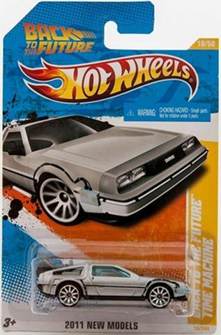 Hot Wheels DeLorean (De Volta para o Futuro Parte 1 + 1
