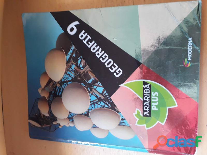 Livro Geografia 9º Ano Moderna Araribá Plus (aluno)