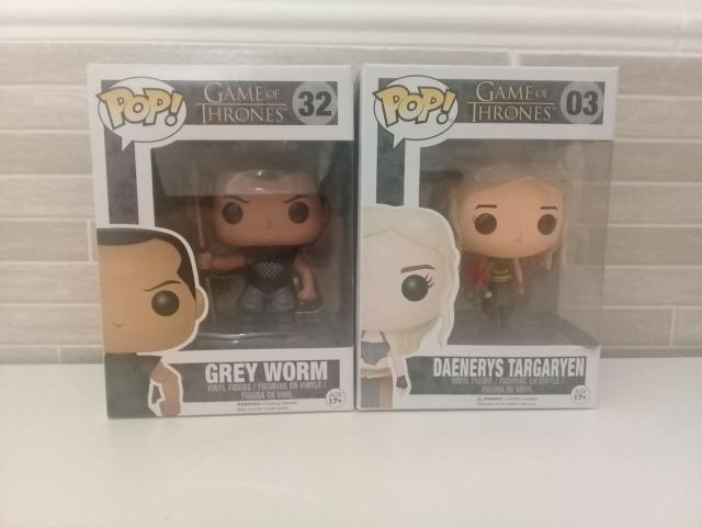 Lote Funkos Game Of Thrones - Grey E Daenerys