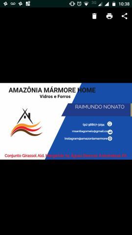 Amazônia Mármore Home (Promoção do forro PVC