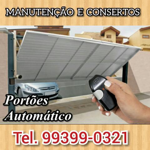 Manutenção e Consertos De Portão Eletrônico em geral