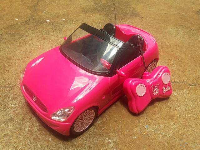 Carrinho de Controle Remoto da Barbie (Barbie Fabulous Car)