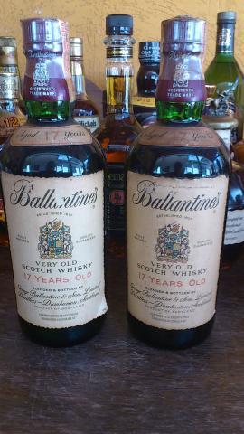 Coleção de whiskys raros decada de 40 e 80