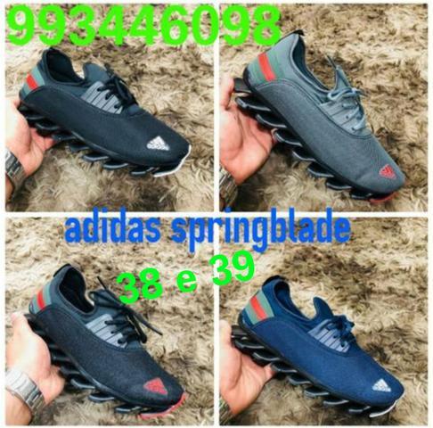 Tênis adidas springblade lançamento