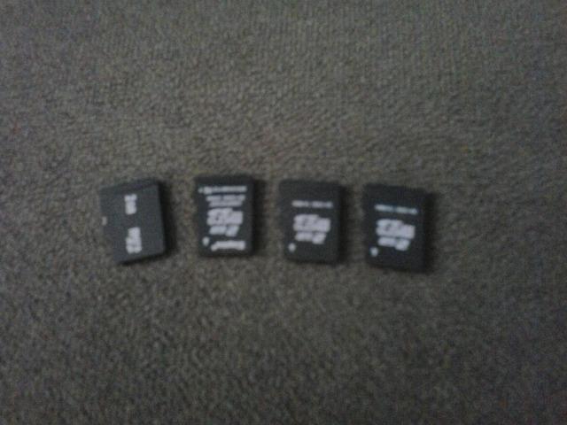 Vendo: 4 Cartões De Memória 2 GB Cada Um