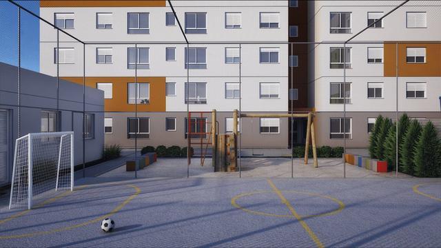 Apartamentos novos, Canoas, entrada parcelada, Finc.,