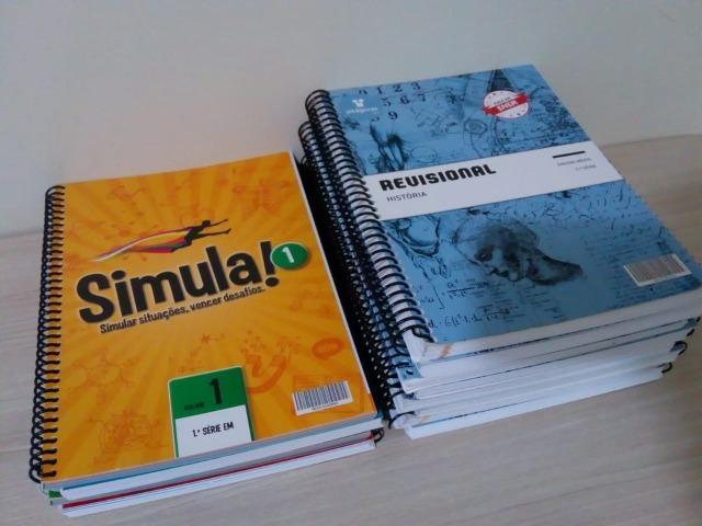 Coleção Pitágoras Livros Revisionais para Enem + Simulas
