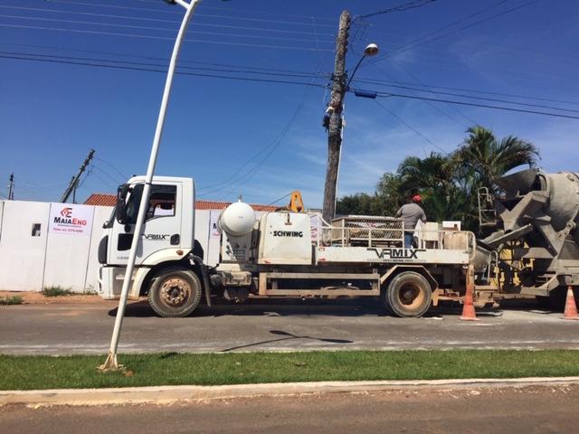 Concreto usinado e locação de caminhões betoneira