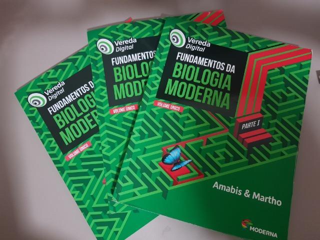 Livro Fundamentos da Biologia Moderna