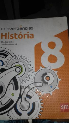 Livro de História 8 ano