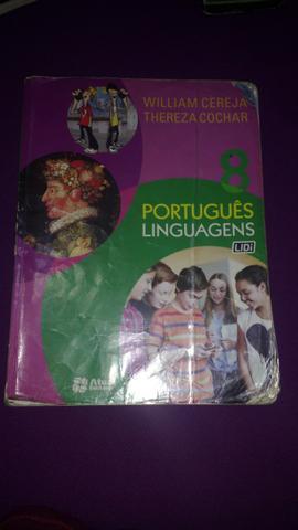 Livro didático de português 8° ano - Em bom estado