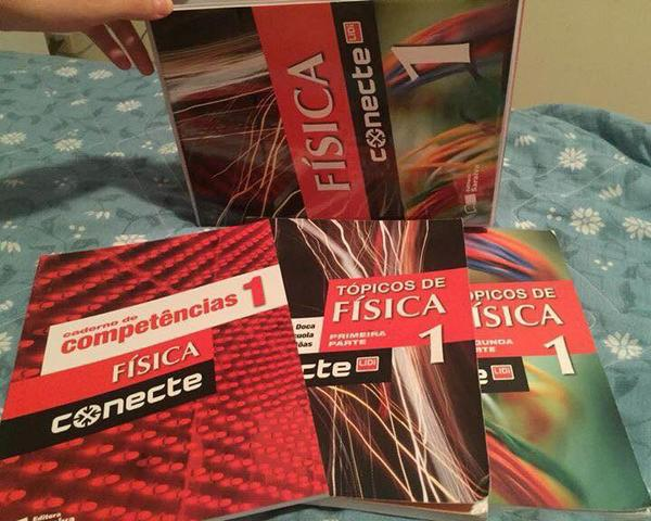 Livros de Física - Box Conecte:com 3 livros - Primeiro Ano