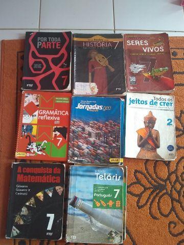 Livros do 7° ano  cada