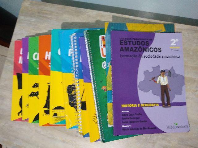 Livros do 7 ano colégio Adventista