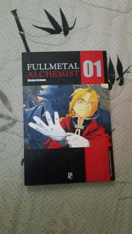 Mangá fullmetal alchemist nova edição