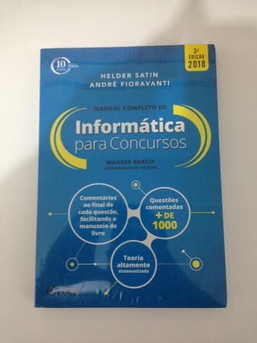 Manual CompIeto de Informática para Concursos - +