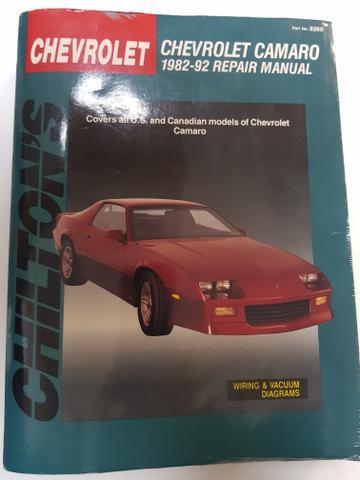 Manual de reparos CHILTON'S Chevrolet CAMARO 3rd Gen