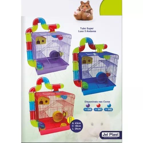Nova Casa Tubo P/ Seu Hamster, Diversas Cores P/ Escolher