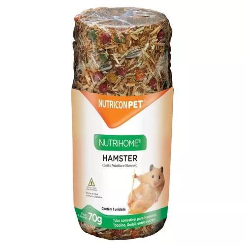 Tubo Comestível P/ Hamster / Esquilo / Mercol / Topolino...