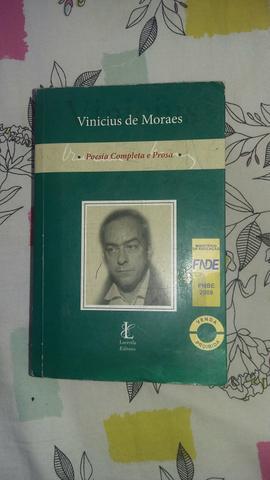 Vendo Livro de Vinicius de Moraes por