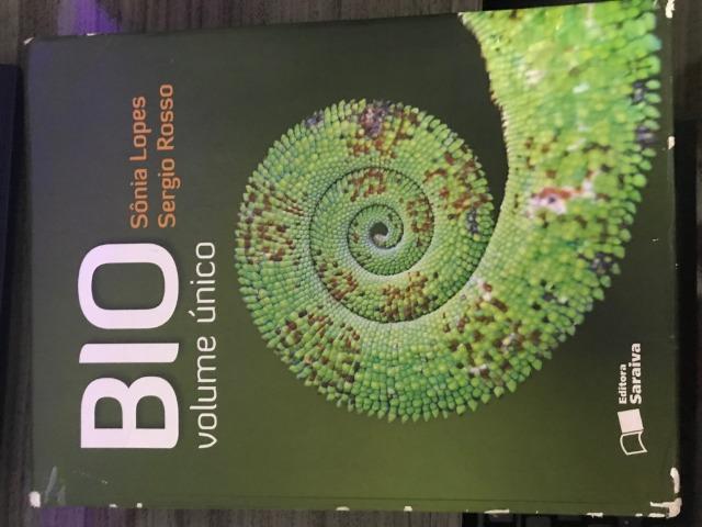 Vendo livro usado: BIO(volume único)-Sonia Lopes e Sergio