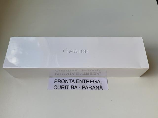 ? Apple Watch Série 4 (S4) Cinza Espacial. Novo e lacrado