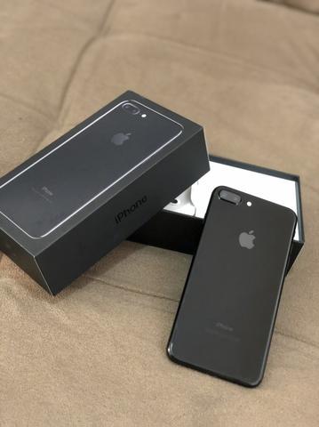 IPhone 7 Plus 32gb Jet Black Completo NOVÍSSIMO