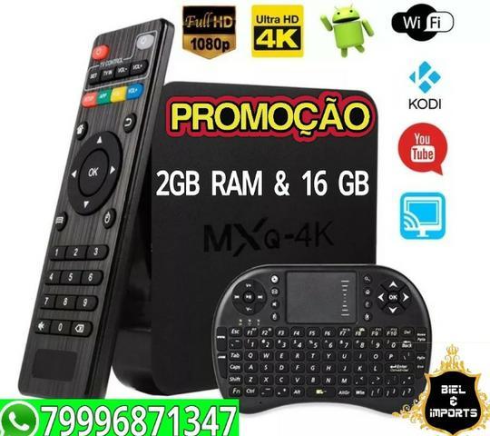 Transforme TV em smart TV Box PRO Android 2GB Ram 16 Rom