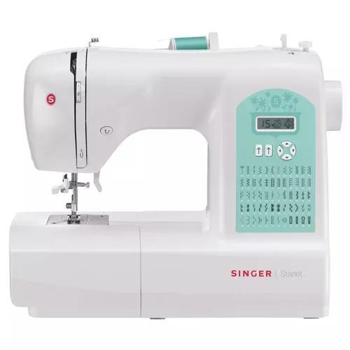 Máquina De Costura Doméstica Eletrônica Starlet 6660