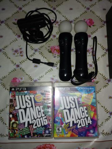 Jogos Just Dance  e  Psmove