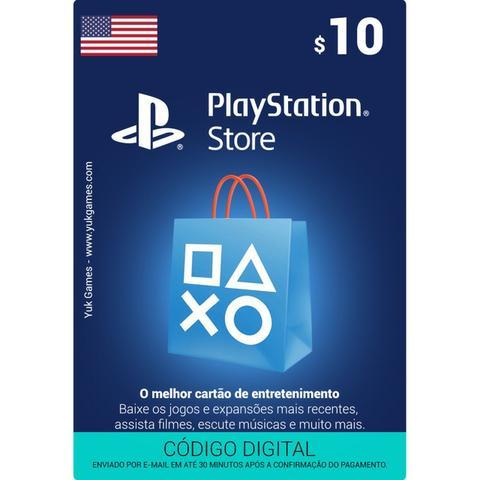 PlayStation? Store US$ - Código Digital - Estados