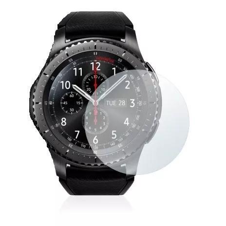 2x Películas Protetoras Savvies® P/ Samsung Gear S3