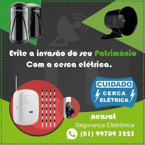 Evite a invasão de seu patrimônio com a Cerca elétrica!!