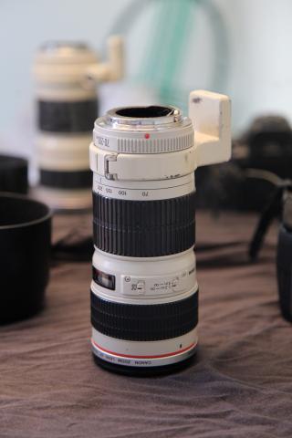 Lente Canon mm f4 L Usm Ac Cartão