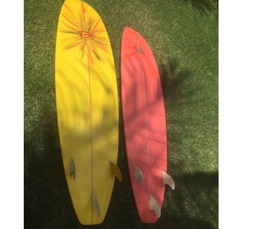 6a6189694 Prancha de surf fan 65quot nova capa lesh