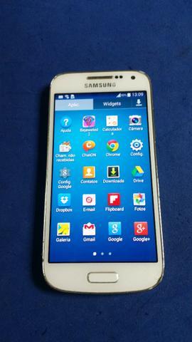 Samsung Galaxy S4 Mini I Duos Dual Chip, da para face e