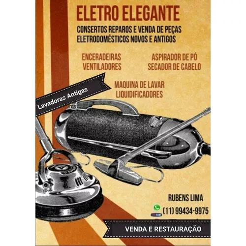 Conserto Restauração Eletrodomesticos E Lavadoras