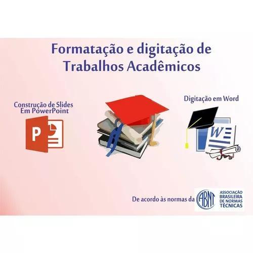 Formatação E Digitação De Trabalhos Acadêmicos