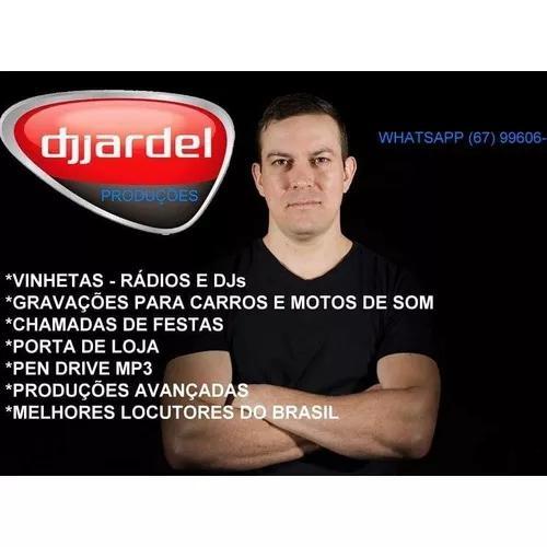 Gravações De Propagandas Comerciais, Vinhetas E Chamadas.