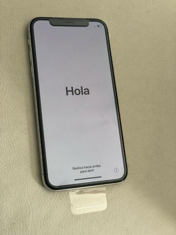 IPhone X 256Gb silver Novo Nunca Usado