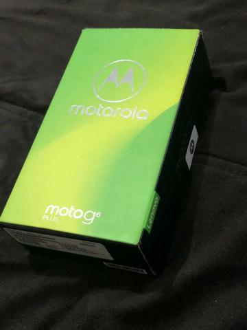 Motorola Moto G6 Plus índigo 64Gb seminovo!