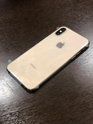 Novo iPhone Xs 64Gb dourado Novo Nunca Usado